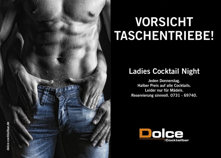 Dolce Cocktailbar Ulm Werbung September 2016